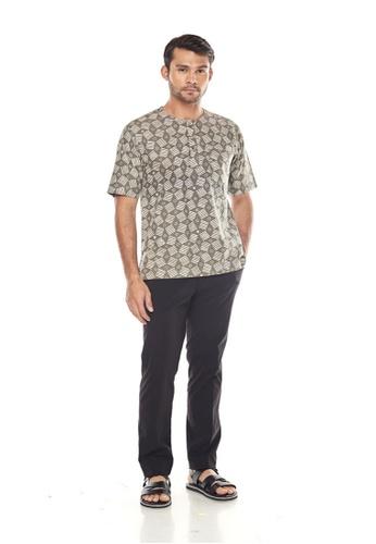 TUSCA green Adiwangsa Batik Shirt 29F9CAA185263EGS_1