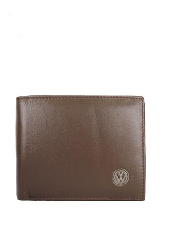 Volkswagen brown Volkswagen Wallet 130ABAC8BF31B3GS_1