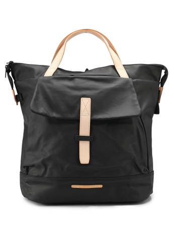 "Rawrow black Rugged Canvas 550 13"" 2 Way Backpack RA312AC0SIY4MY_1"