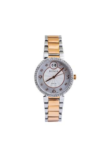 Bonia silver Bonia - BP10368-2617S - Jam Tangan Wanita - Silver Rosegold 77ADCAC618291AGS_1