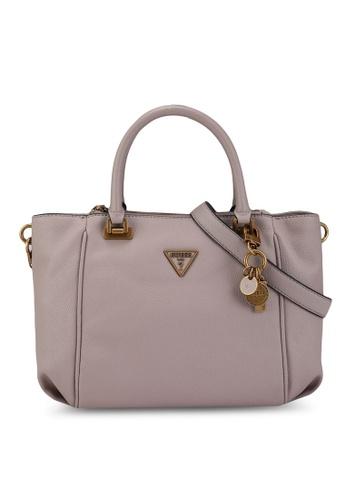 Guess grey Destiny Status Top Handle Bag 91518AC391DE01GS_1