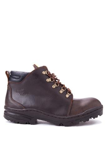 Caterpillar brown BCAT-07 Boots CA367SH85ELIPH_1