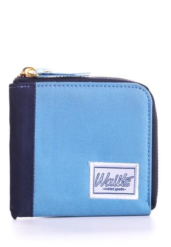 Wallts Milton Card Holder Blue