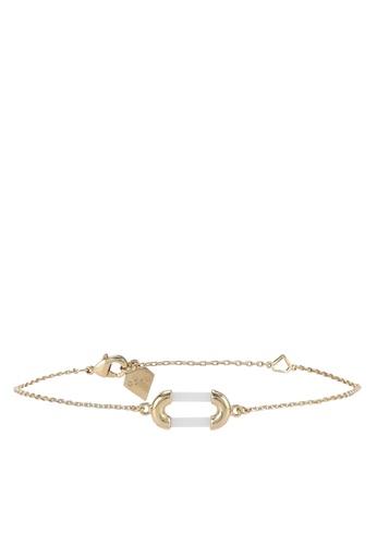 Wanderlust + Co gold Aria Gold & Ivory Bracelet WA415AC24QKHMY_1