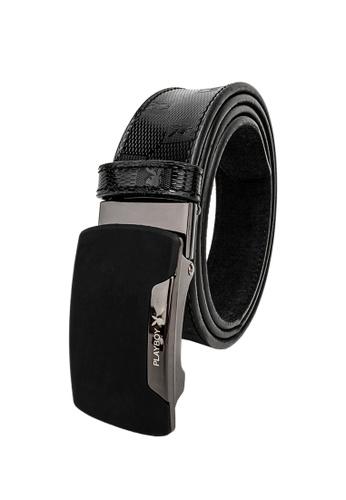Leather Island 35mm Soft Black Napa Leather Belt
