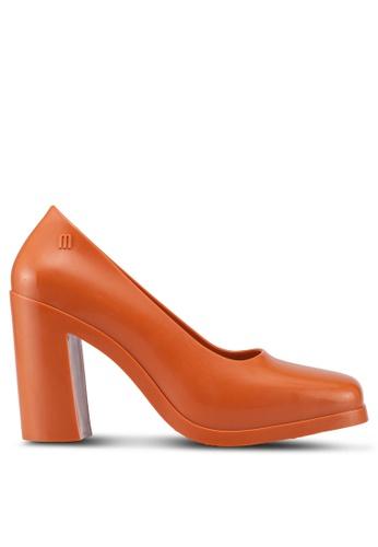 Melissa 橘色 Melissa Shift 粗跟鞋 930F8SH3394DDEGS_1