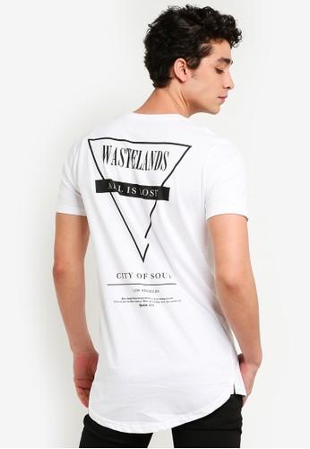 Cotton On white Longline Scoop Hem Tee 4EFAFAABF81128GS_1