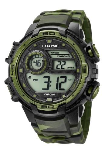 Calypso green Sporty Men's Watches CAL K5723/2 86DAAACA0DA616GS_1