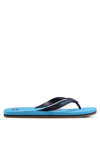 Billabong blue All Day Flip Flops 55FDASH254EA78GS_1
