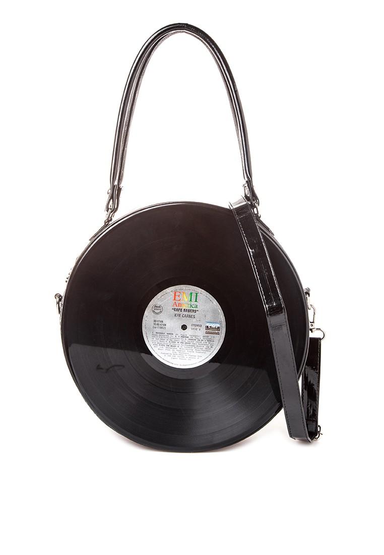 Vinyl Shoulder Bag