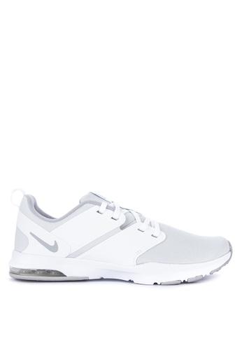 Nike grey and white Women's Nike Air Bella TR Training Shoes F51BASHF390560GS_1