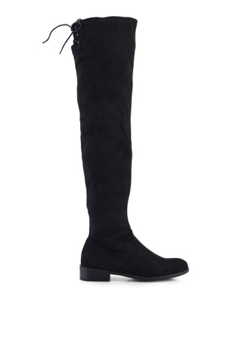 12f09def608 Buy Public Desire Freyja Flat Over The Knee Boots Online on ZALORA ...
