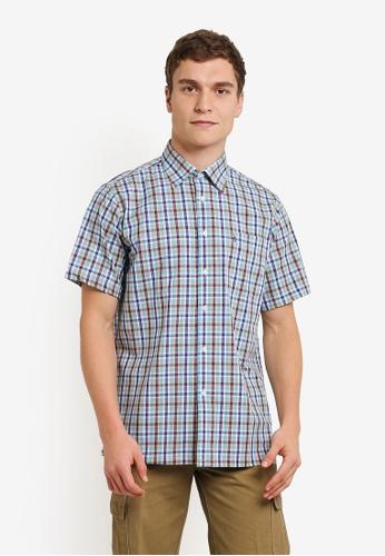 BGM POLO multi Checkered Short Sleeve Shirt BG646AA0S0KLMY_1