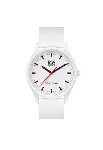 Ice-Watch white Ice-Watch ICE solar power - Polar (Medium) 2CBBCAC187AAE0GS_1