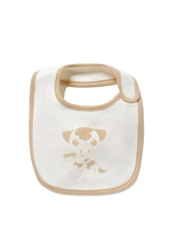 Vauva white Vauva My MY Milk Fiber Bib 2AA51KC73F3490GS_1