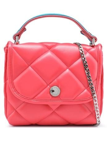 La Fille Des Fleurs pink Megan Crossbody Bag E0E46ACCD3FEB5GS_1