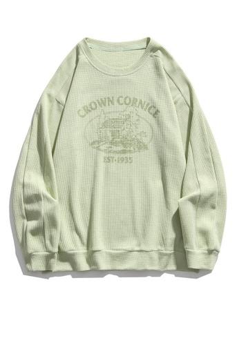 Twenty Eight Shoes Trend Printed Casual Long T-shirt HH1048 DEB7FAAADD6131GS_1