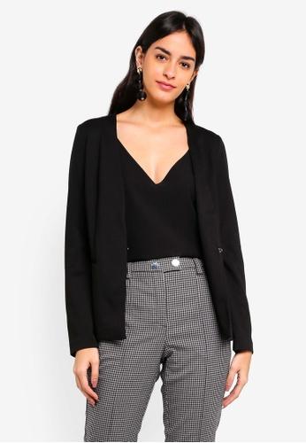 Vero Moda black Gritt Long Sleeve Blazer 77C9CAA16B9367GS_1