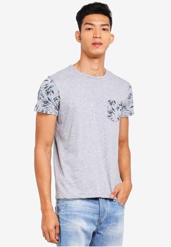 OVS grey Trendy T-Shirt 2B4D0AA719E24AGS_1