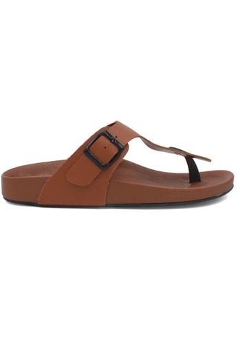 midzone brown MIDZONE Lady Sandals 55BFFSH0616375GS_1