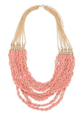 層次esprit 中文串珠項鍊, 飾品配件, 飾品配件