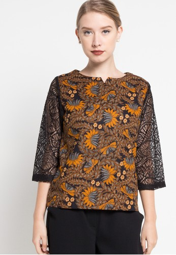 bhatara batik orange Ariani BH237AA57UMKID_1