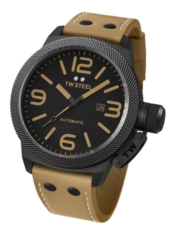TW Steel brown TWA202 Canteen Automatic Analog Watch TW310AC0KMCNPH_1