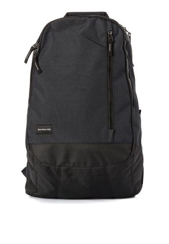 Quiksilver black Goleta Backpack QU305AC0JFLWPH_1