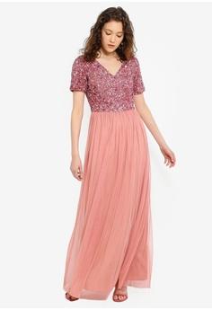 4bd3aef267387 Angeleye pink Pink Dress 38781AAB6AB93BGS 1