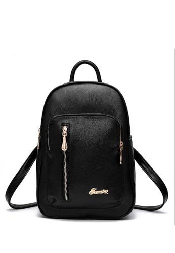 TCWK black Ladies Backpack TC258AC36IYLMY_1