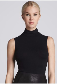[PRE-ORDER] Turtleneck Fitted Sleeveless Top
