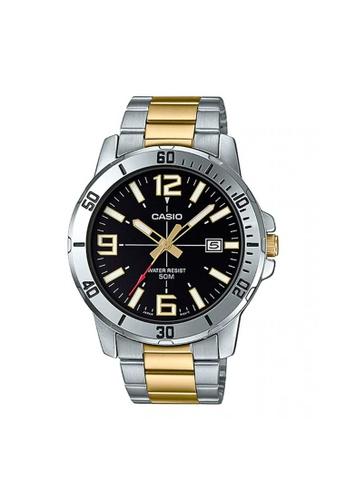 Casio silver CASIO GENERAL MTP-VD01SG-1BVUDF MEN'S WATCH FC310AC772DF3CGS_1