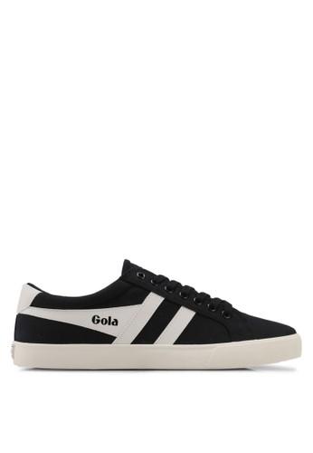 Gola black Varsity Sneakers DBD01SHAC24425GS_1