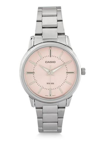 Casio silver Casio Jam Tangan Wanita - Silver Pink - Stainless Steel - LTP-1303D-4AVDF BDAC8ACC226400GS_1