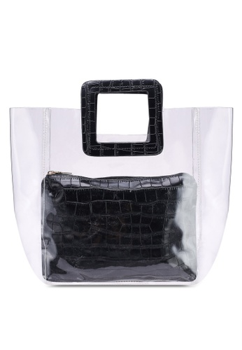 Berrybenka black Heather Martha Top Handle Bag 5F627ACA0B181FGS_1