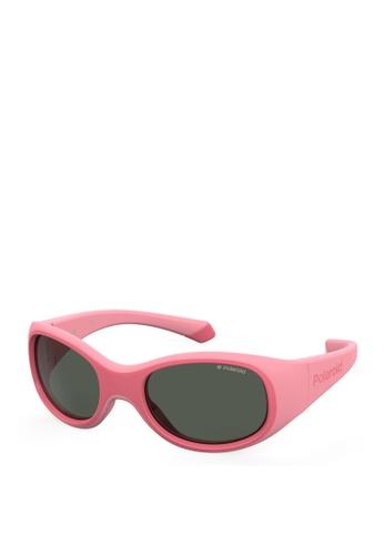 Polaroid Kids pink PLD 8038/S Sunglasses 6F2BFKCEC6E94EGS_1