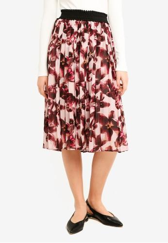 Y.A.S purple Dahlia Skirt 63E73AA064F866GS_1