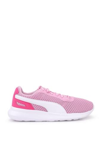 PUMA pink Activate Jr Shoes C904BKS339E85BGS_1