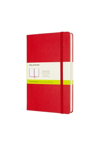 Moleskine red Classic Notebooks Expanded Plain Hard Red Large 7AE1EHLB2E959EGS_1