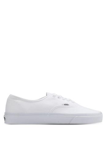 VANS white Core Classic Authentic Sneakers VA142SH77ZUSMY_1