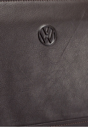 Volkswagen brown Genuine Leather Clutch Bag 41858AC6DFDEE8GS_1