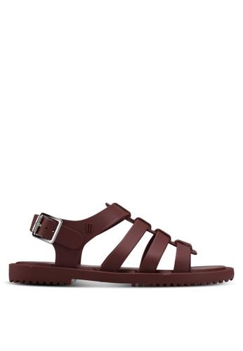 Melissa 紅色 Melissa Flox Unissex Ad Sandals ME121SH0STK6MY_1