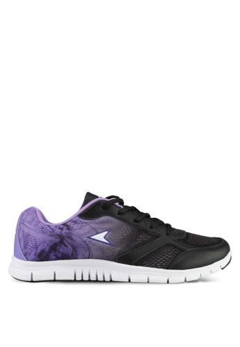 Power black and purple Power Athletic Cross Training Shoes 2B999SH6B7885BGS_1