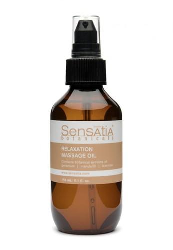 Sensatia Botanicals n/a Sensatia Botanicals Relaxation Massage Oil - 150 ml CBA4DBE43AF0B0GS_1