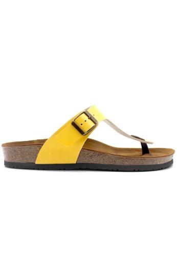 SoleSimple yellow Rome - Yellow Sandals & Flip Flops 6A3FCSH186B6A6GS_1