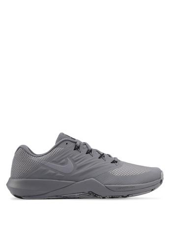 Nike grey Men's Nike Lunar Prime Iron II Training Shoes NI126SH0STRCMY_1