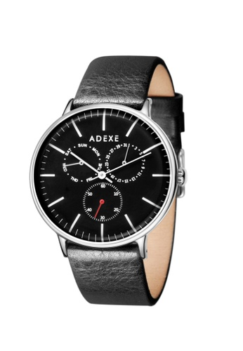 ADEXE Watches black ADEXE Watches THEY Men Leather 78F90AC49241F0GS_1
