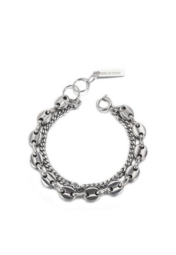 HAPPY FRIDAYS Stylish Coffee Bean Double Layer Bracelet DWS0767 01B2DAC0266360GS_1