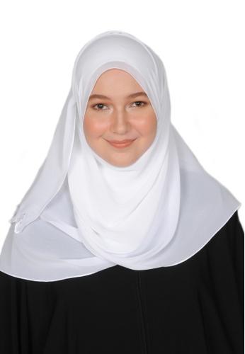 Bait Al Hijaab white LONG SCARF TASNIA EB7DEAA989FC34GS_1