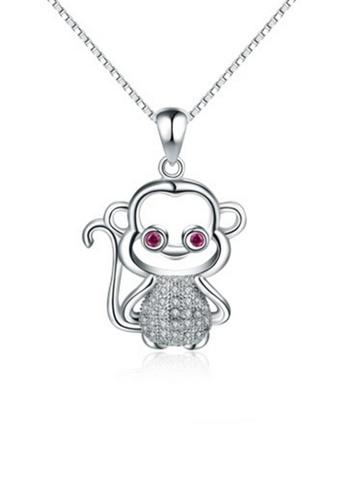 LYCKA silver LPP88088 S925 Silver Necklace 527F0AC97B0FDFGS_1